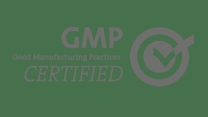 sello de certificación GMP