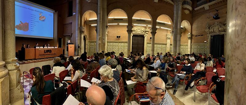 Hifas da Terra organizó un seminario de Micoterapia en Barcelona centrado en la investigación y nuevos tratamientos oncológicos. / Hifas da Terra