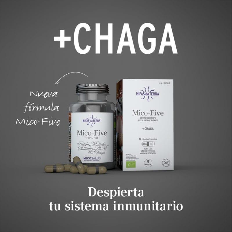 Nuevo Mico Five +Chaga ¡Despierta tu sistema inmunitario! Móvil